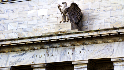 eagle statue above Federal Reserve